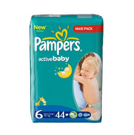Pieluchy Pampers Active Baby 6 Extra Large 42 szt