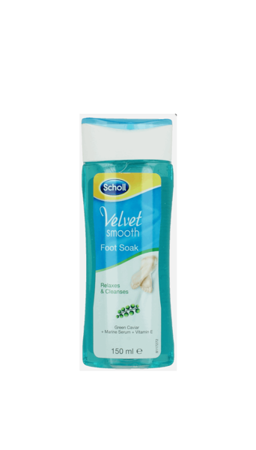 Scholl Velvet Smooth płyn do kąpieli stóp 150 ml