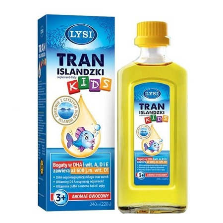 Tran LYSI Kids płyn 240 ml