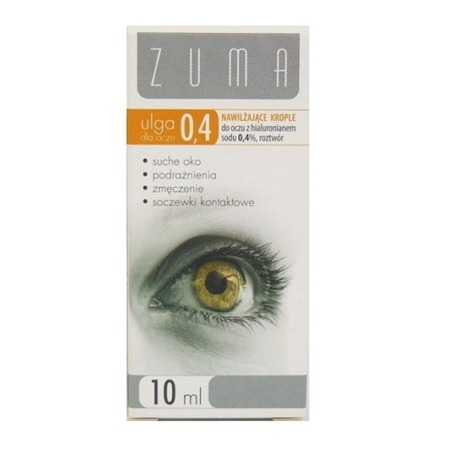 Zuma Noka 0,4% krople do oczy 10 ml,